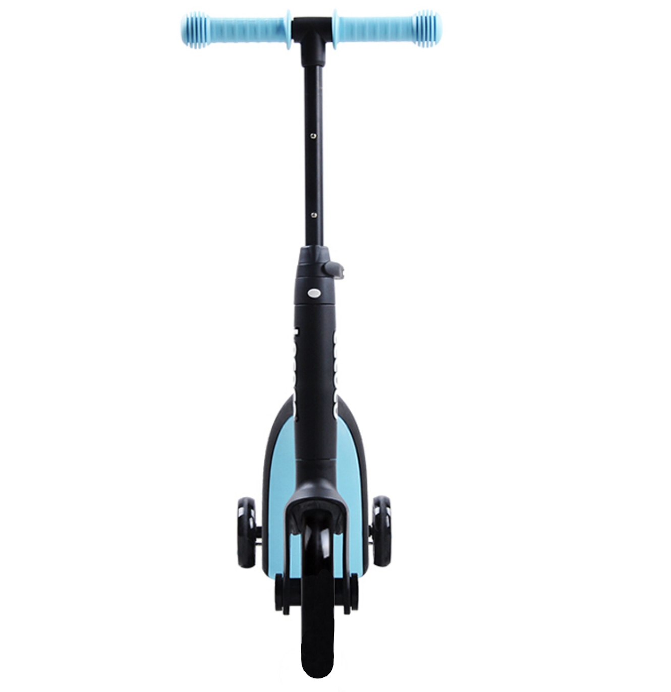 Самокат-беговел перевертень/велосипед дитячий 3 в 1 блакитний + Набiр Trix Trux
